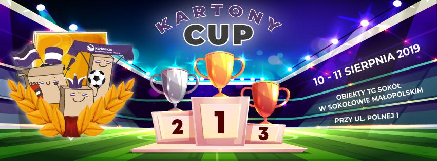 Kartony CUP – 10-11 sierpnia 2019